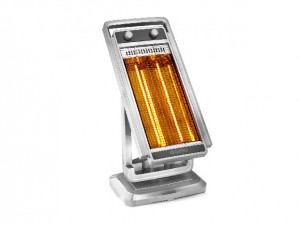 Stufa elettrica a raggi infrarossi