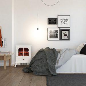 Stufa elettrica per stanza di 20 mq